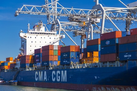 CMA CGM connects Barcelona and Valencia with the eastern Mediterranean Sea