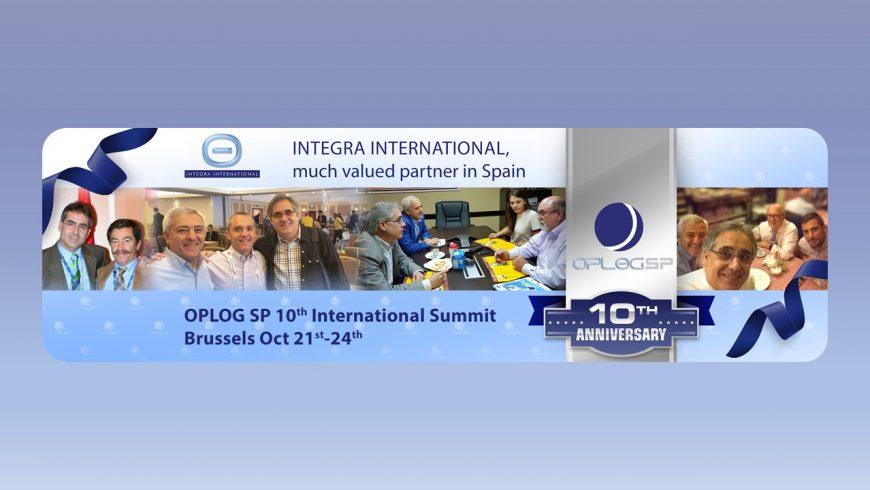Integra International  participa en el SUMMIT del 10º aniversario de la Organización en Bruselas